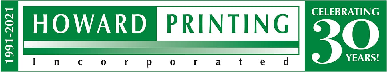Howard Printing 30th Anniversary logo